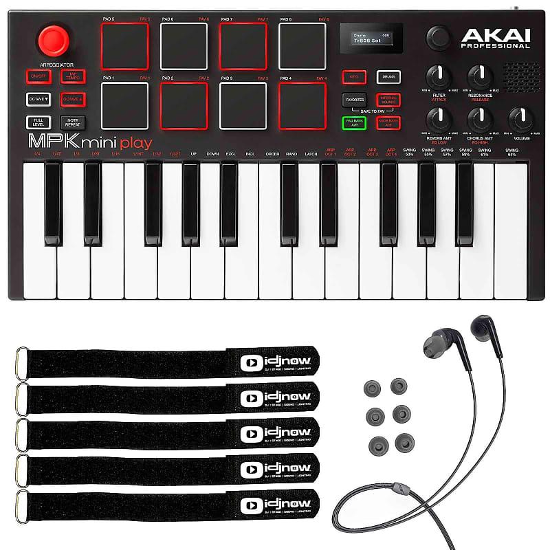 akai mpk mini play 25 key compact usb midi keyboard mpc pad reverb. Black Bedroom Furniture Sets. Home Design Ideas