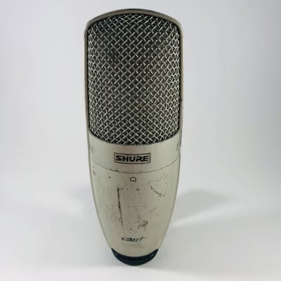 Shure KSM27 Large Diaphragm Cardioid Condenser Microphone  *Sustainably Shipped*