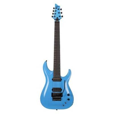 schecter keith merrow km-7-fr-s-lblu for sale