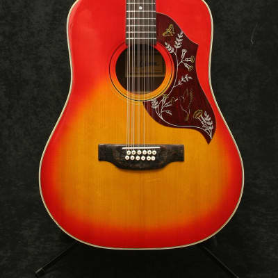 Ariana 9614, 12 string, Two Tone Sunburst, Made in Japan for sale