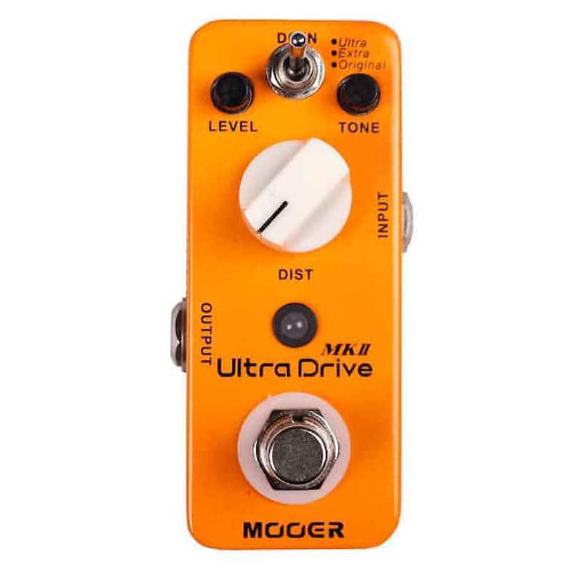 MOOER ULTRA DRIVE MKII Micro Pedal image