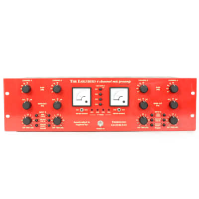 Thermionic Culture Earlybird 4 4-Channel Mic Preamp Limited Edition