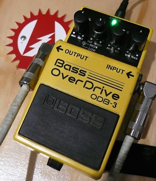 modify your boss odb 3 bass overdrive effects pedal reverb. Black Bedroom Furniture Sets. Home Design Ideas