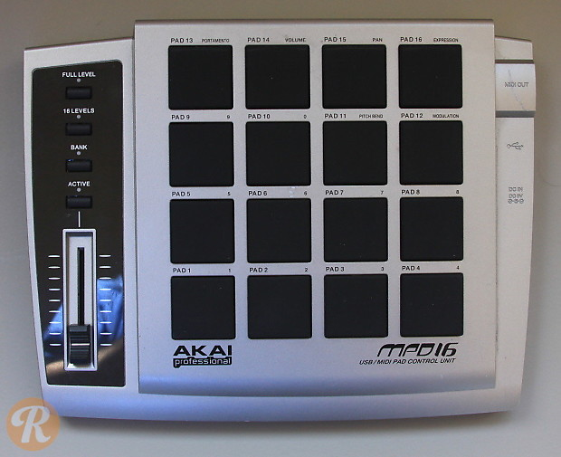 Would you buy a used akai mpd16? Gearslutz.