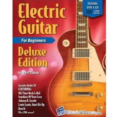 Electric Guitar Deluxe Edition - For Beginners (w/ DVD & CD)