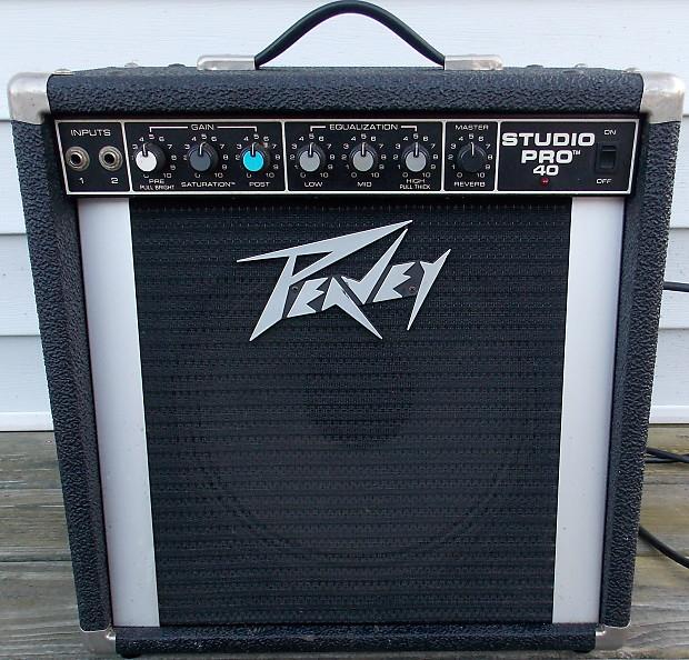 Guitar Amps Made In Usa : peavey studio pro 40 guitar amp made in usa reverb ~ Russianpoet.info Haus und Dekorationen