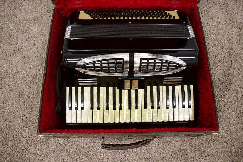 Vintage Italian Accordion 120 Bass | From the Top Music Shop
