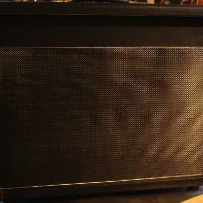 Germino 2x12 Guitar Cabinet With Vintage Pre-Rola Celestion Pulsonic G-12 H Speakers Open Back for sale