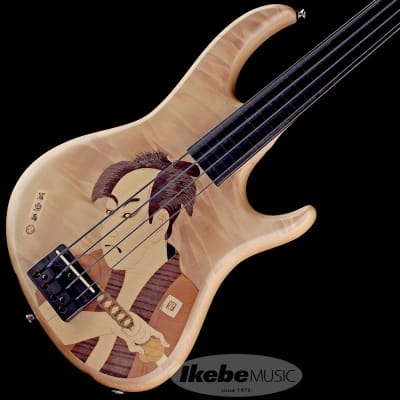 Sago Ridill4 Inlay -Samurai- Fretless Bass for sale