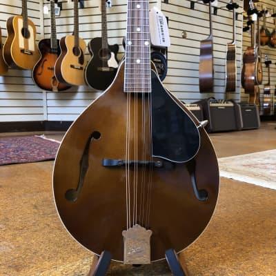 Kentucky KM-156 Standard German Spruce/Alpine Maple A-Style Mandolin Transparent Brown w/Padded Gig Bag