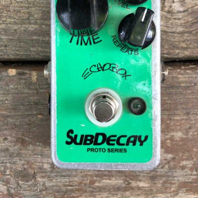 Subdecay Echobox Proto series