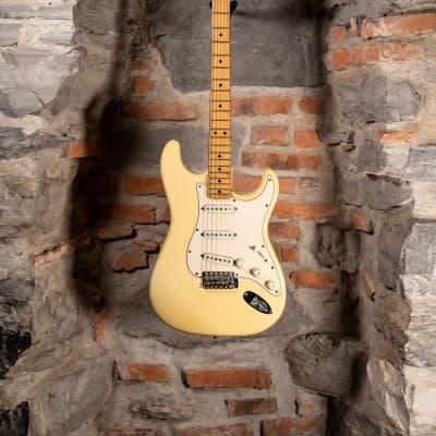 Fender Stratocaster Olympic White Maple Neck 4 Bolts Original Vintage Last Hendrix Era 1971 Used