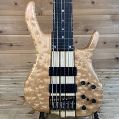 Ken Smith BSR6EG Electric Bass - Quilted Maple for sale