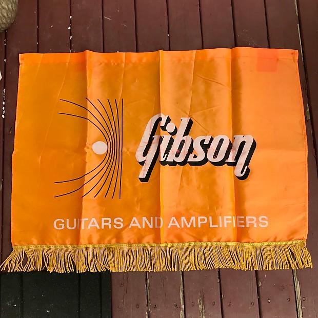 1960s gibson dealer banner reverend guitar man reverb. Black Bedroom Furniture Sets. Home Design Ideas