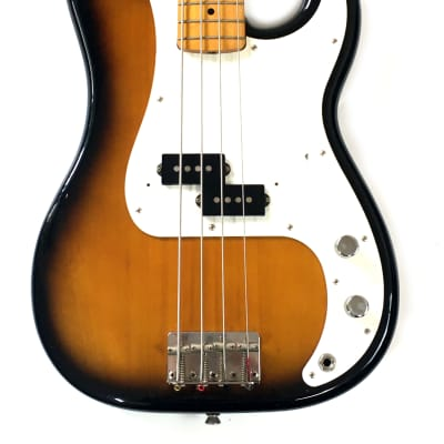FENDER JAPAN PB57 Precision Bass Guitar '57 Vintage Reissue 2T Sunburst