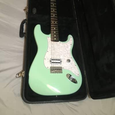 2001 Surf Green Tom Delonge Fender Stratocaster w/ Hardshell for sale