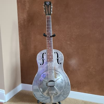 National Resonator, Style O 1932 Silver, with original case. for sale