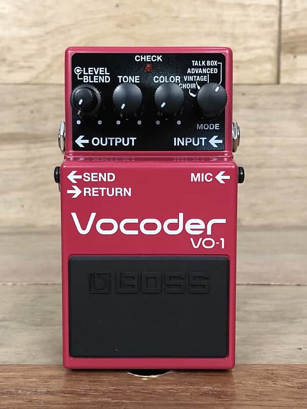 boss vo 1 vocoder pedal sims music reverb. Black Bedroom Furniture Sets. Home Design Ideas