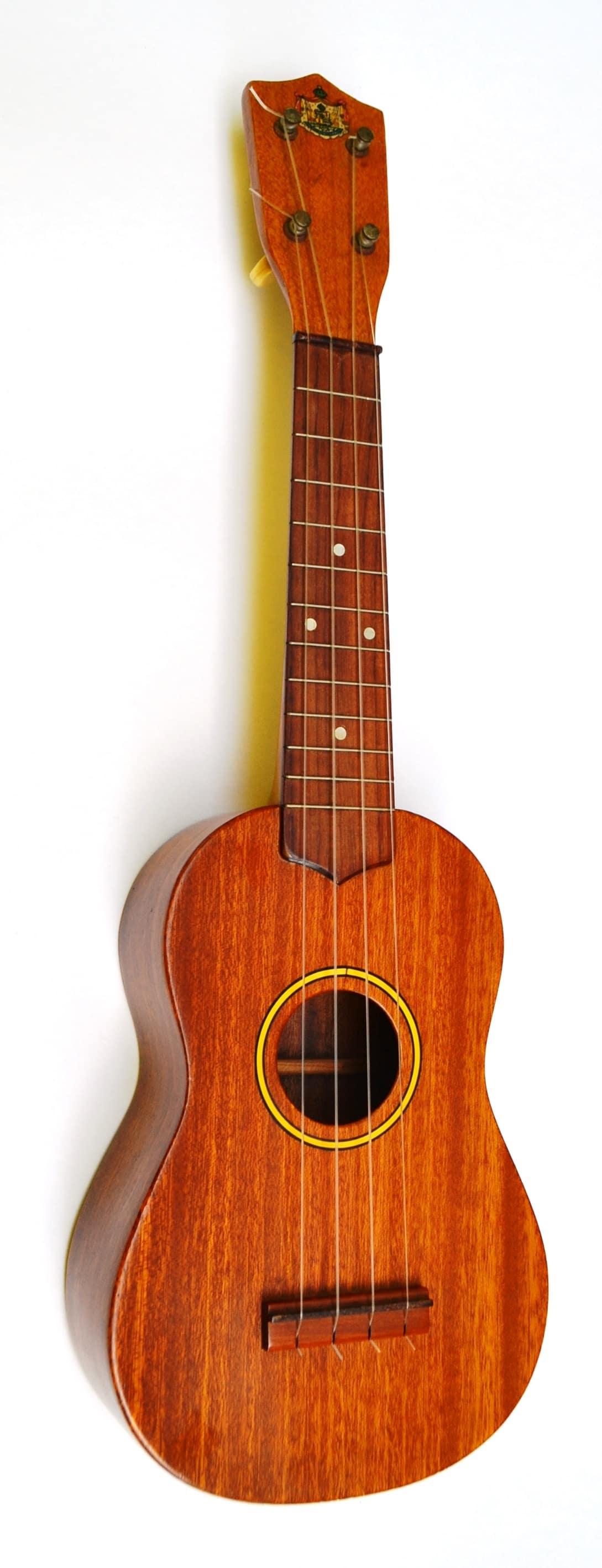 Vintage Hawaiian Made Beautiful Koa Wood Soprano