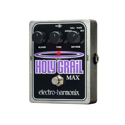Electro Harmonix Holy Grail Max Reverb and Multi-function Control Pedal for sale