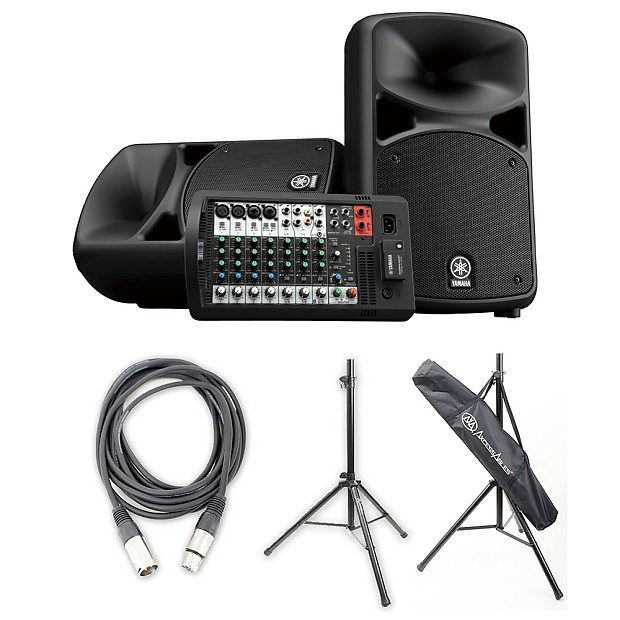 yamaha stagepas 600bt portable pa system w axcessables reverb. Black Bedroom Furniture Sets. Home Design Ideas