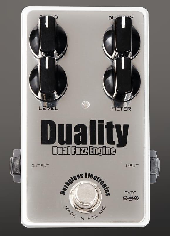 New Darkglass Electronics Duality Dual Fuzz Engine Pedal