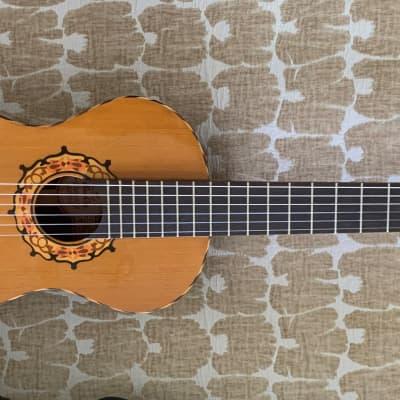 Takeharu Kiso Suzuki  Parlor Size LGT-31B Classical guitar 1974 Natural for sale