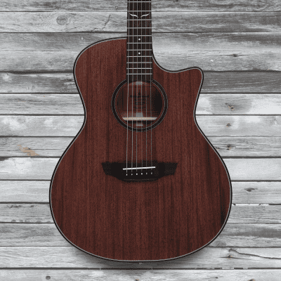 Orangewood Morgan Mahogany Solid Top Cutaway Acoustic-Electric Guitar w/ Fishman EQ for sale