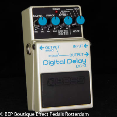 Boss DD-2 Digital Delay 1986 Japan s/n 662800 as used by Eric Clapton and Tom Morello, David Gilmour