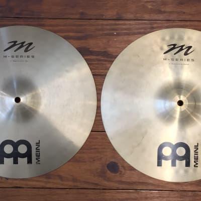 """USED Meinl M Series 14"""" Medium Hi-Hat Cymbals (Pair)"""