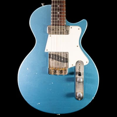 Fano SP6 Standard Electric Guitar in Ice Blue Metallic, Pre-Owned for sale