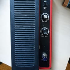Shin-Ei Companion WF-24 8-Tr Fuzz Wah 1970's Red