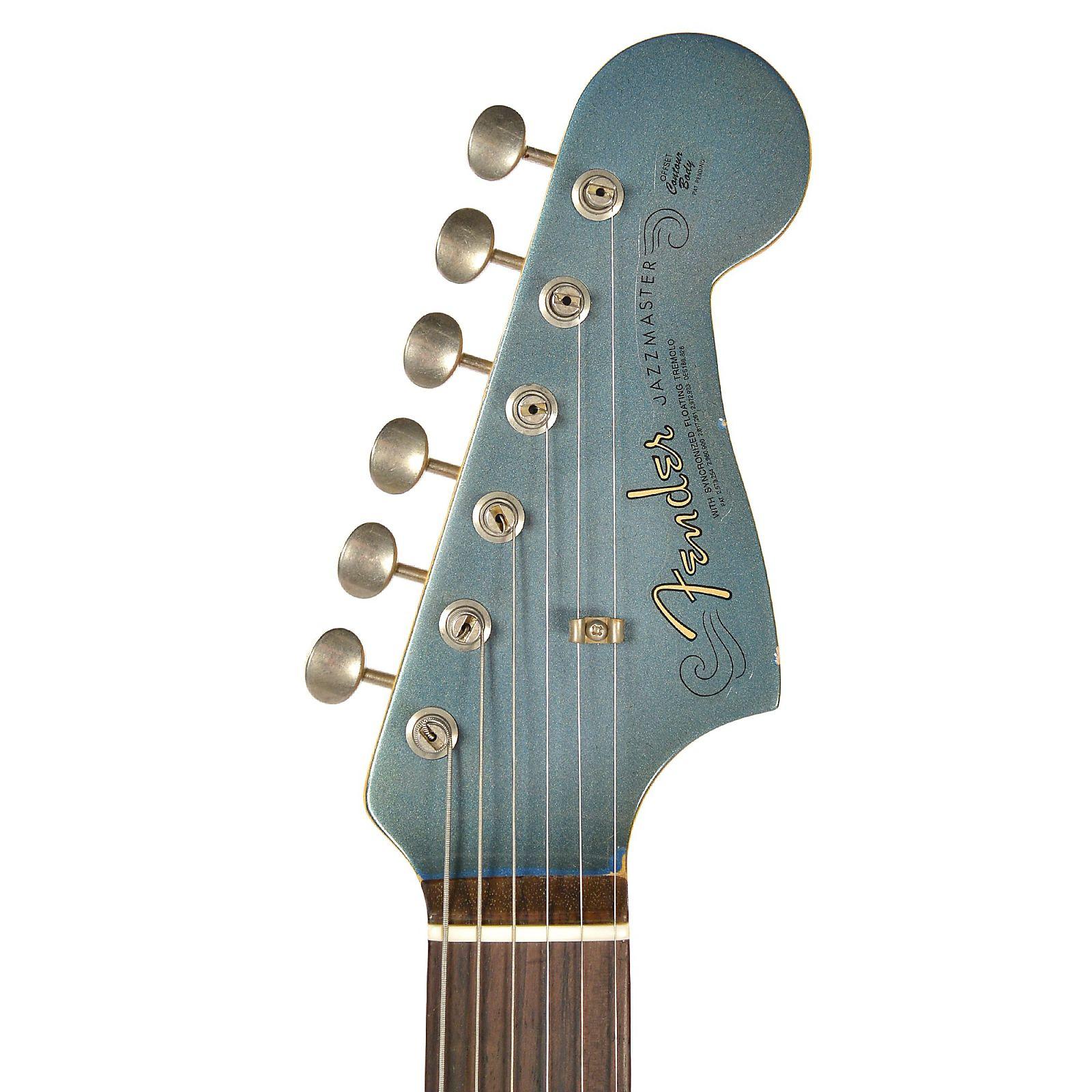 Fender Custom Shop 1962 Jazzmaster Journeyman Relic Super Aged Lake 2 Pickup Guitar Wiring Placid Blue Cme Spec