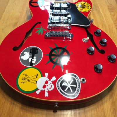 "Gibson Custom Shop ES-335 Alvin Lee ""BIG RED"" Signature for sale"