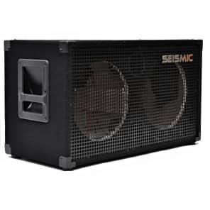 """Seismic Audio SA-212E Empty 2x12"""" Guitar Cab"""