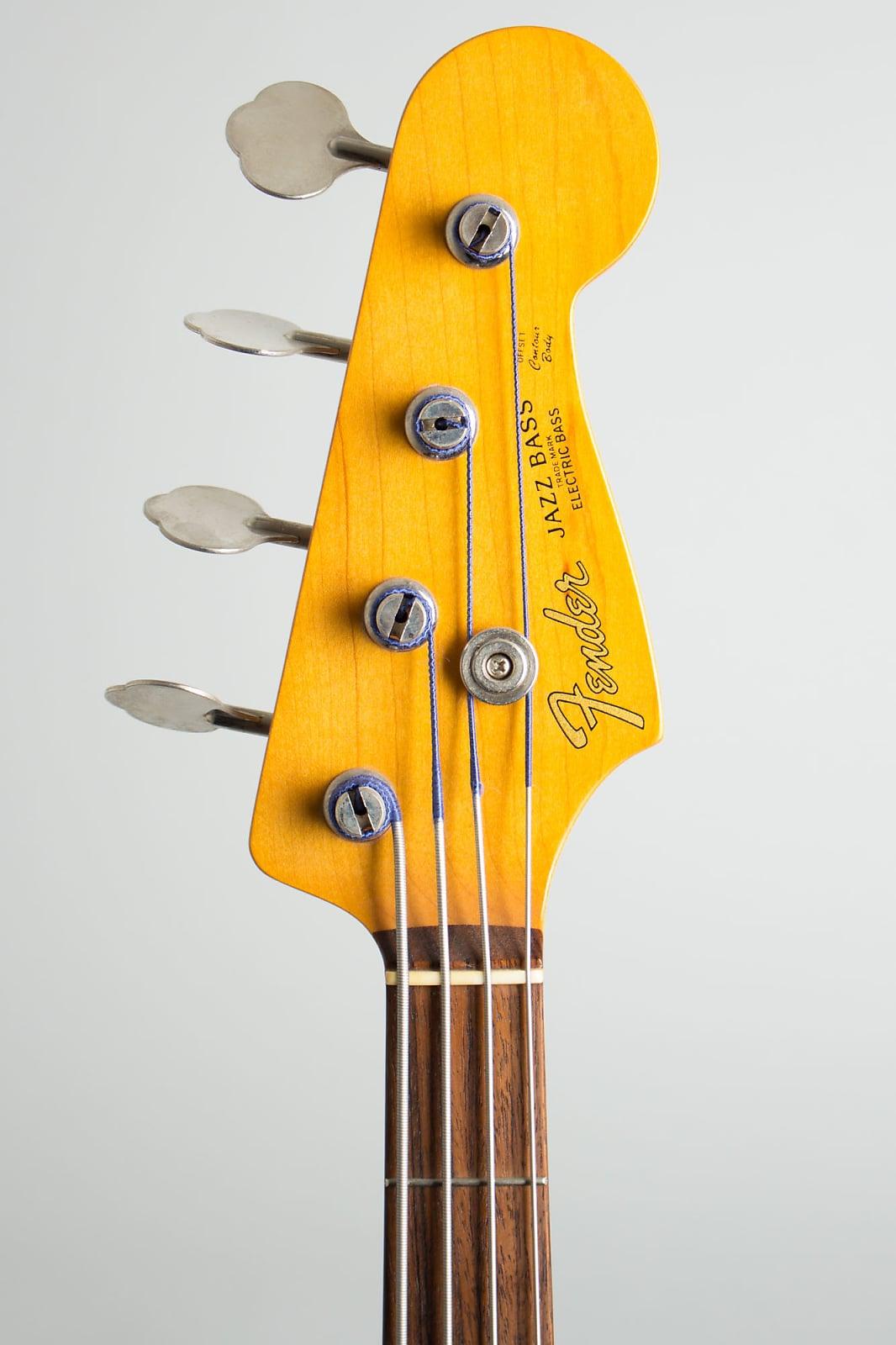 Fender  Jazz Bass JB-62ISL Solid Body Electric Bass Guitar (2010), ser. #U053919, NO CASE case.