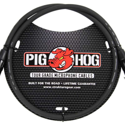 Pig Hog PHM3 8mm Mic Cable 3ft XLR