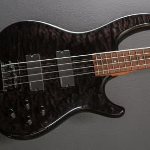 Dean E4-FM-TBKS Edge Flame Maple 4-String Bass Trans Black Satin