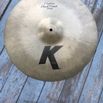 Zildjian K Custom Dark Crash 18''