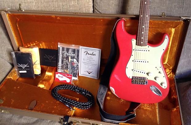 Fender Custom Shop Stratocaster Fiesta Red Relic