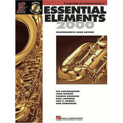Essential Elements 2000: Comprehensive Band Method - E-Flat Baritone Saxophone | Book 2 (w/ CD)
