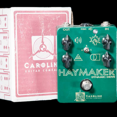 Caroline Guitar Company Haymaker Dynamic Drive Overdrive Pedal for sale
