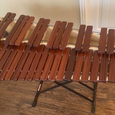 Marimba Warehouse  MPM Maxey 3-Octave Practice Marimba with stand  2017 brown
