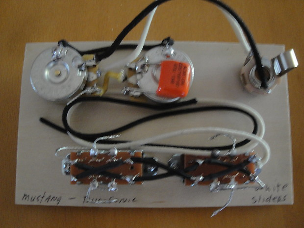 Fantastic Fender Mustang Or Duo Sonic Ii Wiring Harness High Quality Reverb Wiring Digital Resources Nekoutcompassionincorg
