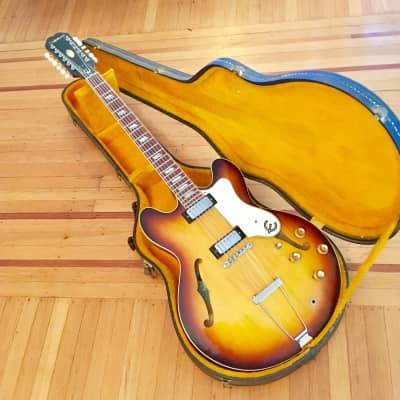 Epiphone Riviera XII 1967 Sunburst 12 string electric original vintage gibson Kalamazoo mi for sale