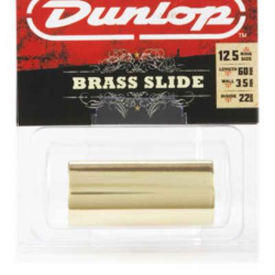 Dunlop 224 Brass Guitar Slide, Heavy Wall Thickness - Medium