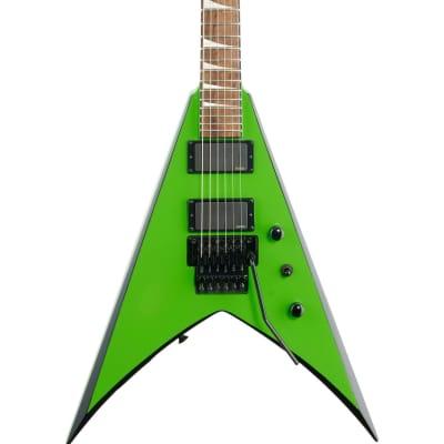 Jackson X King V KVXMG Electric Guitar, Slime Green, with Black Bevels