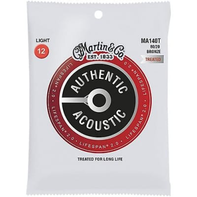 Martin Lifespan SP 80/20 Bronze Acoustic Guitar Strings, Light