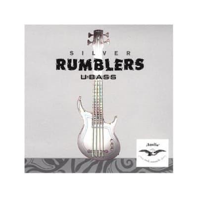 Aquila Strings AQ-UBASS-RMBL Aquila Silver Rumblers U-Bass Strings
