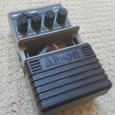 Vintage 80s Arion SFL-1 Stereo Flanger Guitar Effect Pedal MIJ Japan Bass for sale